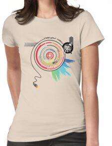 Pendulum Vinyl Music Mashup Womens Fitted T-Shirt