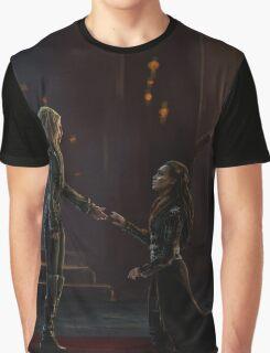 Lexa bow original view Graphic T-Shirt