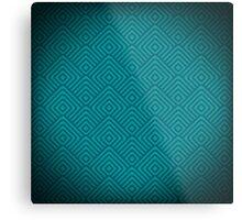 seamless blue patterns Metal Print