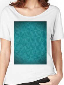 seamless blue patterns Women's Relaxed Fit T-Shirt