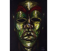 Mask of Diligence Photographic Print