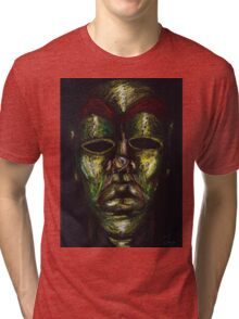 Mask of Diligence Tri-blend T-Shirt