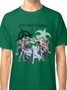 Fire Emblem Fates - Hoshido & Nohr Royalty (with Logo) Classic T-Shirt