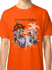 Fire Emblem Fates - Hoshido & Nohr Royalty (with Logo) Classic T-Shirt