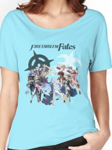 Fire Emblem Fates - Hoshido & Nohr Royalty (with Logo) Women's Relaxed Fit T-Shirt