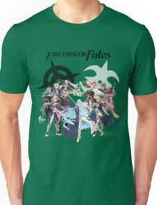 Fire Emblem Fates - Hoshido & Nohr Royalty (with Logo) Unisex T-Shirt