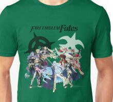 Fire Emblem Fates - Hoshido & Nohr Royalty (with Logo) Unisex T-Shirt