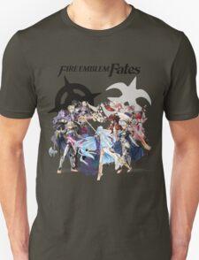 Fire Emblem Fates - Hoshido & Nohr Royalty (with Logo) T-Shirt