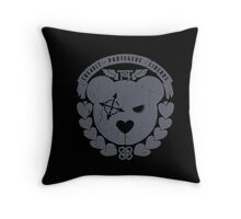 TACTICAL TEDDIES HEADQUARTERS FACTION LOGO Throw Pillow