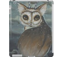 Meowl- owl cat iPad Case/Skin