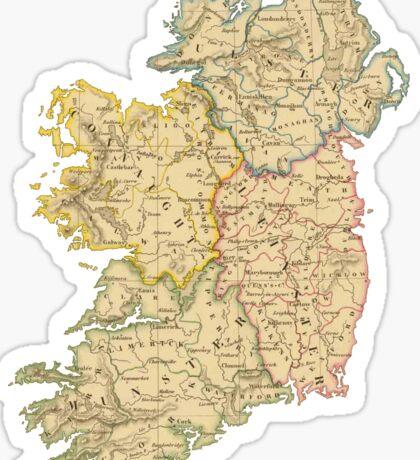 Vintage Ireland Sticker