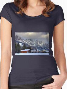 Bludenz (Vorarlberg, Austria) Women's Fitted Scoop T-Shirt