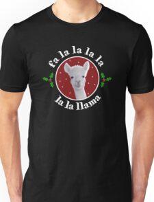 Christmas Carol Llama Unisex T-Shirt