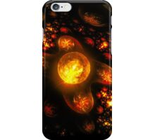 Galaxies of Flame iPhone Case/Skin