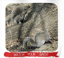 Watch Your Back! Poster