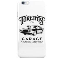 Torettos Garge Dom iPhone Case/Skin