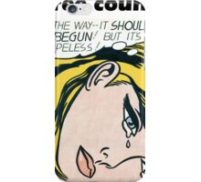 Raintree County - Everybody knows! iPhone Case/Skin