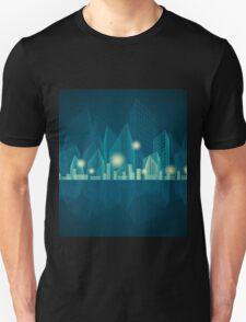 City Landscape at night T-Shirt