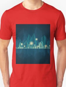 City Landscape at night Unisex T-Shirt
