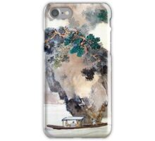 Tani Buncho Odes to the Red Cliffs iPhone Case/Skin