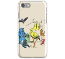 Friendly Beasts iPhone Case/Skin