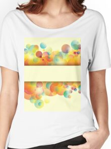 Abstract colorful background Women's Relaxed Fit T-Shirt