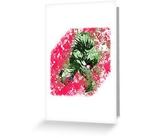 Blanka - Beast Blood Greeting Card