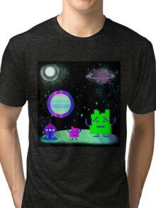 Mooninites On the air Tri-blend T-Shirt