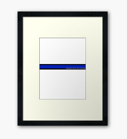 Order out of Chaos Framed Print