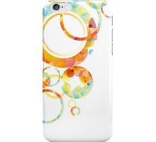 Abstract colorful background iPhone Case/Skin