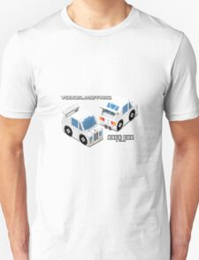 VoxelMetric Race Car T-Shirt