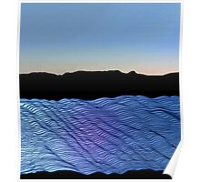 River in the Dawn Light Poster