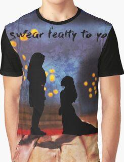 fealty clexa digital painting Graphic T-Shirt