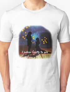fealty clexa digital painting Unisex T-Shirt