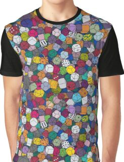 Gamer Dice Graphic T-Shirt