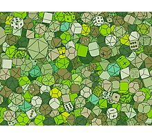 Forest Dice Photographic Print