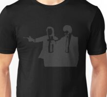 Pulp Fiction Script White Unisex T-Shirt
