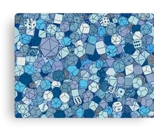 Frost Dice Canvas Print