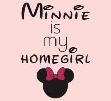 Minnie Is my Homegirl One Piece - Long Sleeve