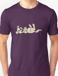 Tan Dog with Blaze - Roll Over T-Shirt