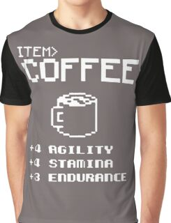 Soft Funny Coffee Graphic T-Shirt