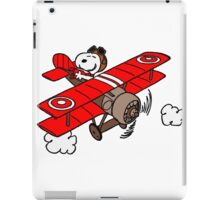 Snoopy Flying  iPad Case/Skin