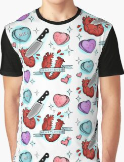 Heart Br8kr  Graphic T-Shirt