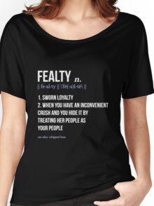 fealty clexa definition  Women's Relaxed Fit T-Shirt