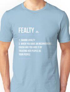fealty clexa definition  Unisex T-Shirt