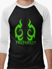 Are You Prepared? Men's Baseball ¾ T-Shirt