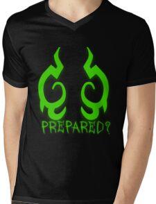 Are You Prepared? Mens V-Neck T-Shirt