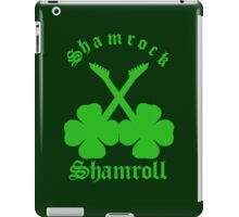 Shamrock Shamroll iPad Case/Skin