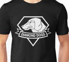 Diamond Dogs white Unisex T-Shirt
