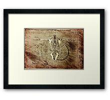Angelic Anatomy  Framed Print